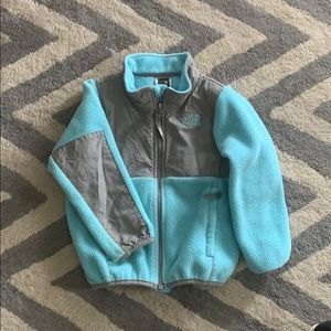 North face aqua fleece